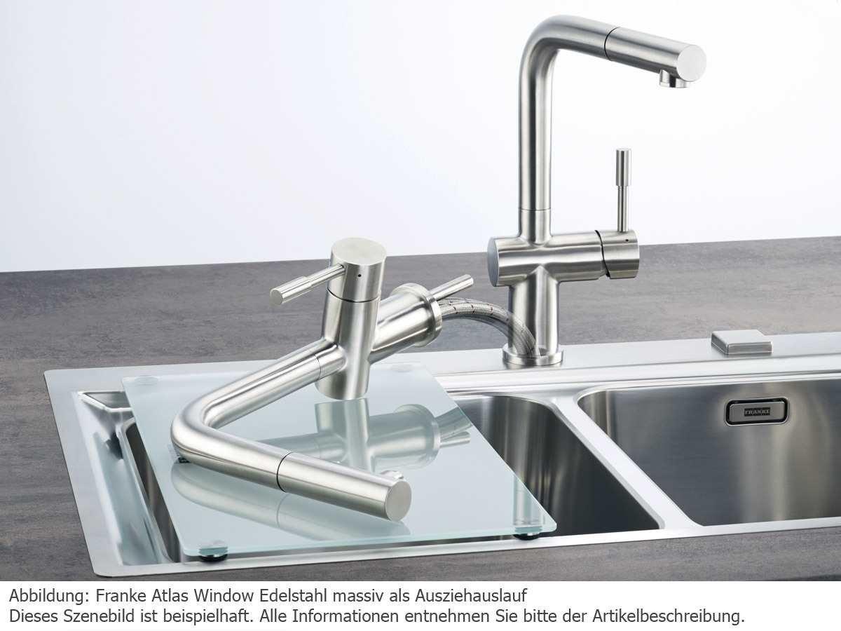 Franke Atlas Window Hochdruck-Armatur / Küchen-Armatur / massiv ...