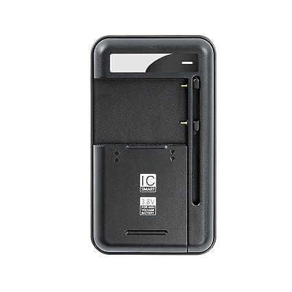 Amazon.com: xishuai Cargador de batería universal con USB ...