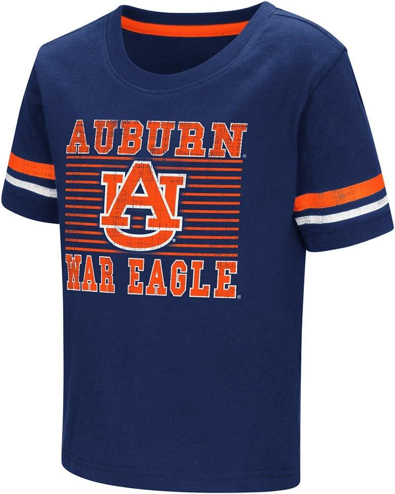 Colosseum Auburn Tigers Boys Toddler War Eagle Logo Short Sleeve Navy T-Shirt