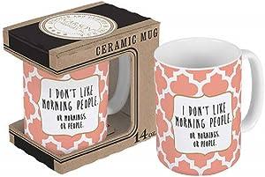 Carson I Don't Like Morning People Boxed Mug