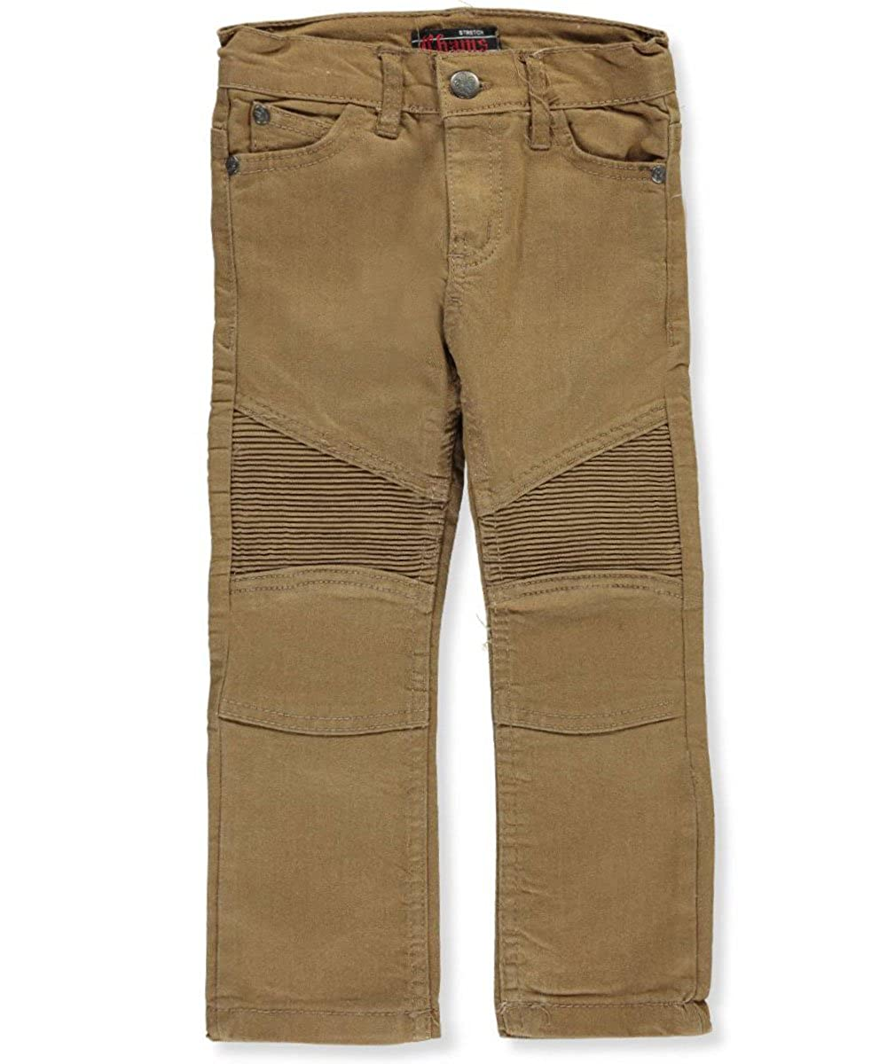 Chams Little Boys' Toddler Stretch Moto Jeans 3t