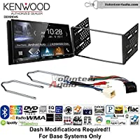 Volunteer Audio Kenwood DDX9904S Double Din Radio Install Kit with Apple CarPlay Android Auto Bluetooth Fits 1999-2004 F-150, 2003-2008 E-150, 1998-2012 Ranger