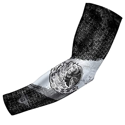 21ebb75daf Bucwild Sports USA Mexico Puerto Rico Flag Compression Arm Sleeve - Youth    Adult Sizes -
