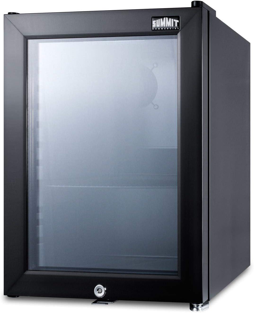 Summit SCR114L 14 Inch Compact Refrigerator in Black