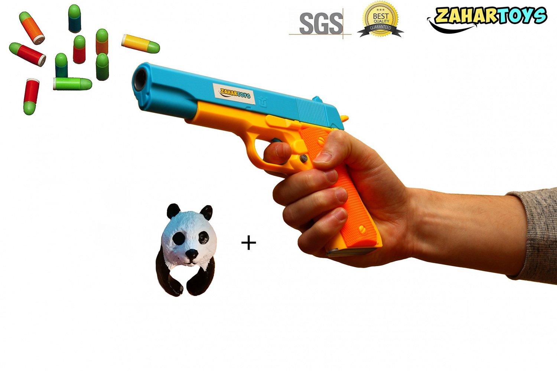 Classic Toy Gun Colt Pistol m1911 Kids Dart Guns Soft Bullet Nerf Style  Outdoor