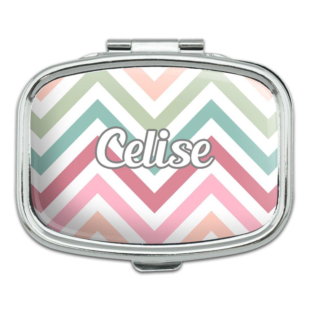 Rectangle Pill Case Trinket Gift Box Names Female Car Ch Celia