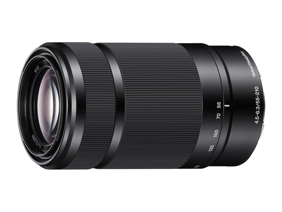 Sony E 55-210mm F4 5-6 3 Lens for Sony E-Mount Cameras (Black)
