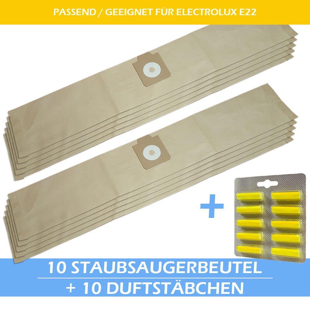 10 Staubsaugerbeutel Für ELECTROLUX Z 940 950 951 Pro 955 970 990