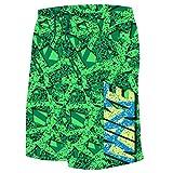 Nike Boy's Granite 9'' Swim Trunks L Electro Green