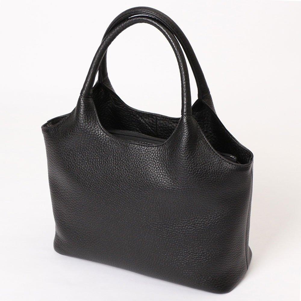 牛革 フォーマルバッグ ハンドバッグ 本革バッグ 日本製 ブラック No.2386 レディースバッグ (鞄 かばん バッグ)   B0773G5FZB