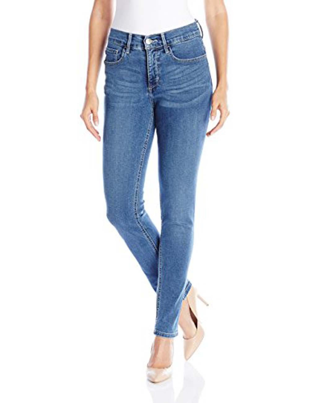 Lee Women's Easy Fit Frenchie Skinny Jean, Heritage, 12