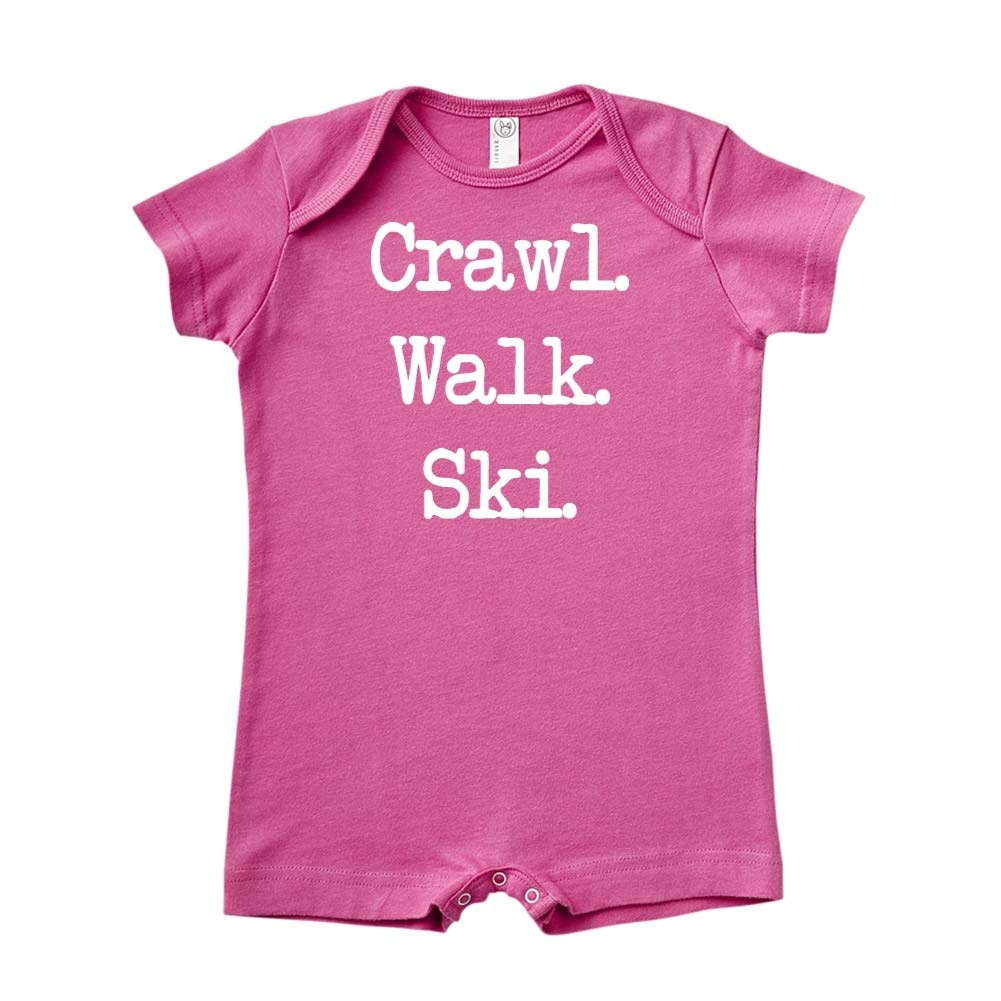 - Baby Romper Walk Ski Mashed Clothing Crawl