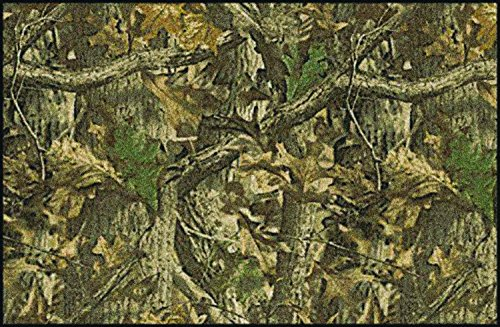 Realtree Timber Solid Camo Novelty Rug Rug Size: 5'4
