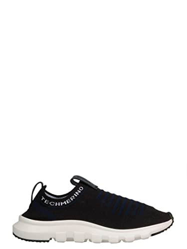 9be1e8b841 Image Unavailable. Image not available for. Color: Z Zegna Men's  A4185xstenav Blue Wool Slip On Sneakers