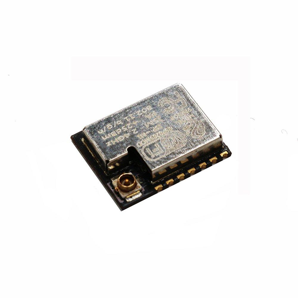 Sunhokey 2pcs ESP-M1 ESP8285 ESP8266 1M Flash Chip Wifi Wireless Module Serial Port Ultra Transmission With External Antenna Interface FZ2735
