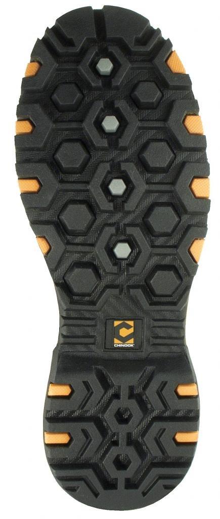 Chinook Footwear Men's Scorpion II Heavy Duty-10-Black by Chinook Footwear (Image #2)