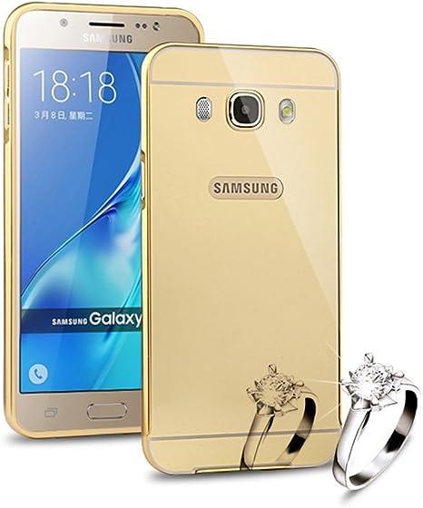 Sunroyal®para Samsung Galaxy J5 (2016)  J510 Funda Reflexión ...
