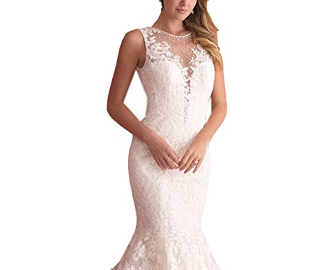 Lava ring women s mermaid deep v neck see through white lace