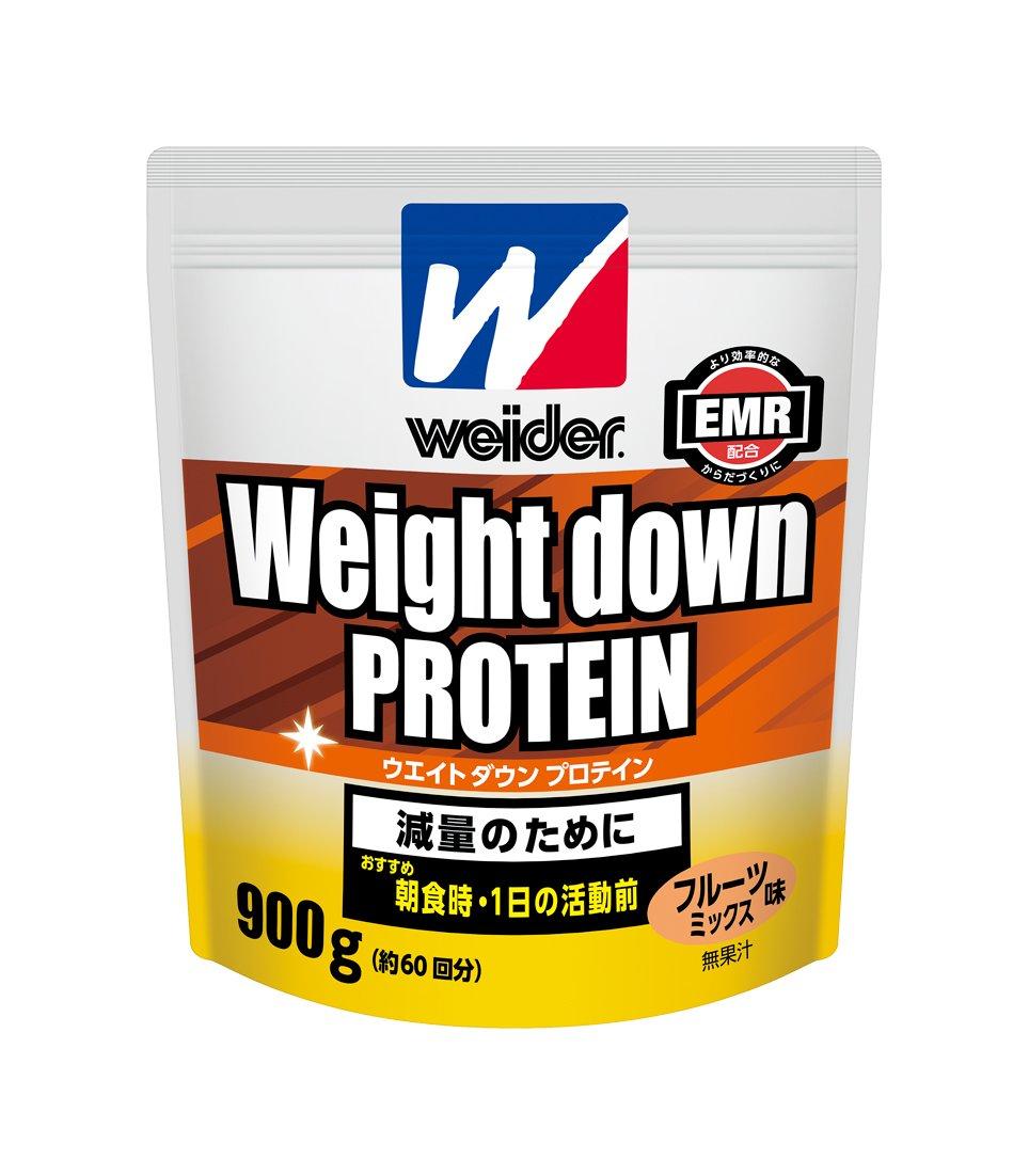 ウイダー ウエイトダウンプロテイン900g フルーツミックス味 (2個セット) B0794GF8JX