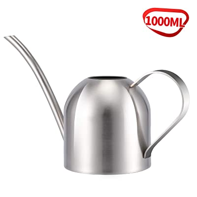 Asvert Stainless Steel Watering Can Pot Modern Style