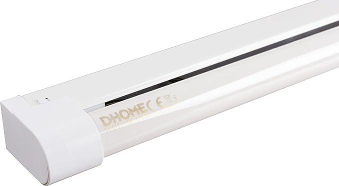 Reglette standard con tubo fluorescente dhome 1 x 18 w: amazon.it