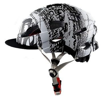 Amazon.es: Songlin@yuan Nuevo casco de seguridad para bicicletas ...