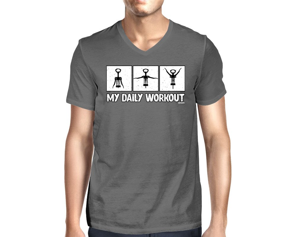 S My Daily Workout Vneck Tshirt