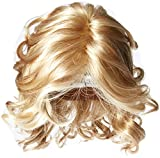 Hairdo Hairuwear Raquel Welch Brave The Wave Collection With Shoulder Length Modern Scrunched Soft Wavy Chic Hair, R14/88H Golden Wheat