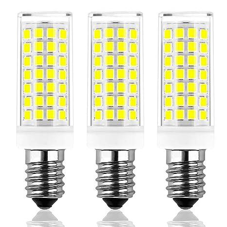 Las bombillas LED E14 de 8W reemplazan la bombilla incandescente de 60W, el paquete Brolight