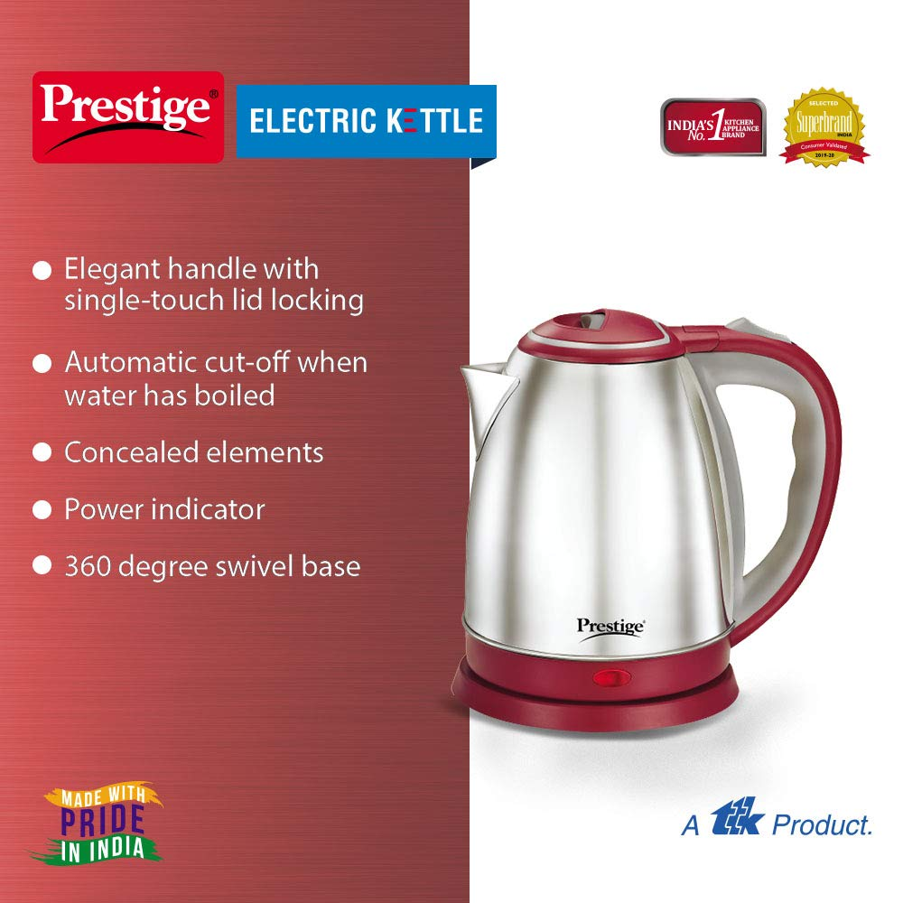 Prestige electric kettle 1.5 litre