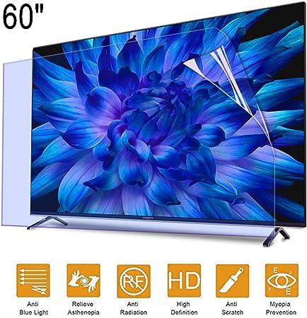 ZSLD Protector De Pantalla para TV Bloque De Película Antirreflejo De 60 Pulgadas con Protección contra La Radiación Rayo Azul Dañino Y Protege Tus Ojos, para LCD LED HDTV,52.67 * 29.76 Inch: