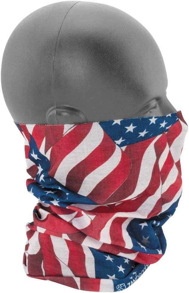 Zan Motley Tube Wavy American Flag T265