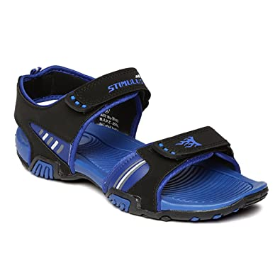 a598a820231a PARAGON Stimulus Men s Blue Sandals  Buy Online at Low Prices in ...