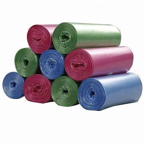 Ordate 180 Saco de Basura Bolsas de Basura de Plástico ...