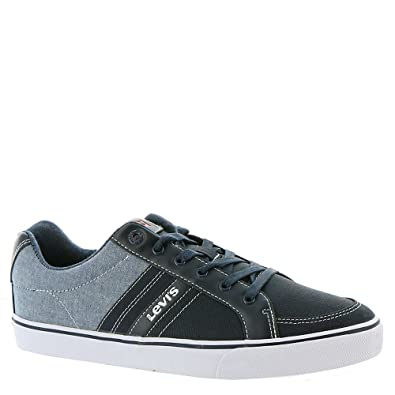 discount sast Men's Levis Miles Chambray Casual Sneakers free shipping pay with paypal lfR4aWZ