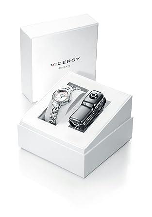 Reloj Viceroy Niña Comunión 40880-05 Acero + Cámara de regalo: Amazon.es: Relojes