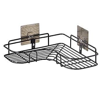 Aiyoo Badezimmer Dusche Eckregal Keine Bohren Ecke Duschkorb Wand