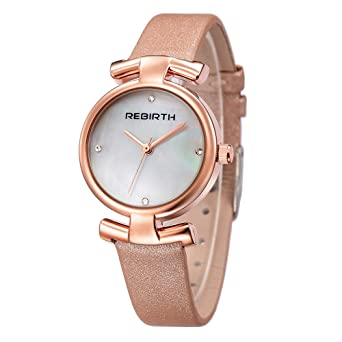 Fashion Shell Rhinestones Beautiful Colored Watches Small Dial Leather  Strap Quartz Women Girls Wrist Watch 9cdc24ad5409