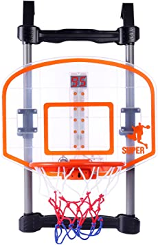 Dittzz Canasta Baloncesto,Aro de Baloncesto Colgado en la Puerta ...
