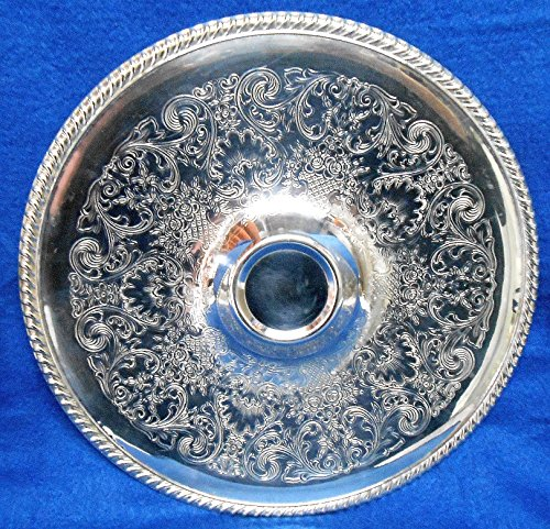 (Vintage Wm Rogers Silver Plated 12-1/4