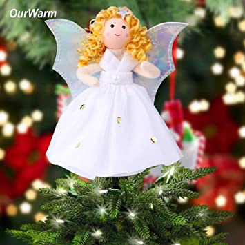 decoration noel 2017 decoration christmas 2018 christmas angel christmas tree toppers guardian angel decorations kids new