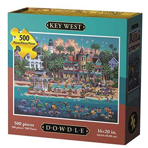 Dowdle Folk Art Key West Jigsaw Puzzle