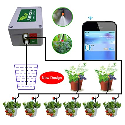 Amazon.com : AiHihome Smart Automatic Watering System Indoor Plant on plant agriculture, plant classification system, plant management system, plant border, plant building, plant lighting, plant transport system, plant garden, plant new grass, plant propagation system, plant training system, hydro plant system, plant watering devices, plant water system, diy self watering planter system, plant communication system, sprinkler system, plant hydroponic system, plant watering system, plant greenhouse,
