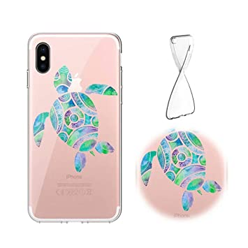 coque iphone xs tortue