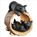 Rough Play Bear Cubs Garden Statue Design Bear Bears Grizzly Cub