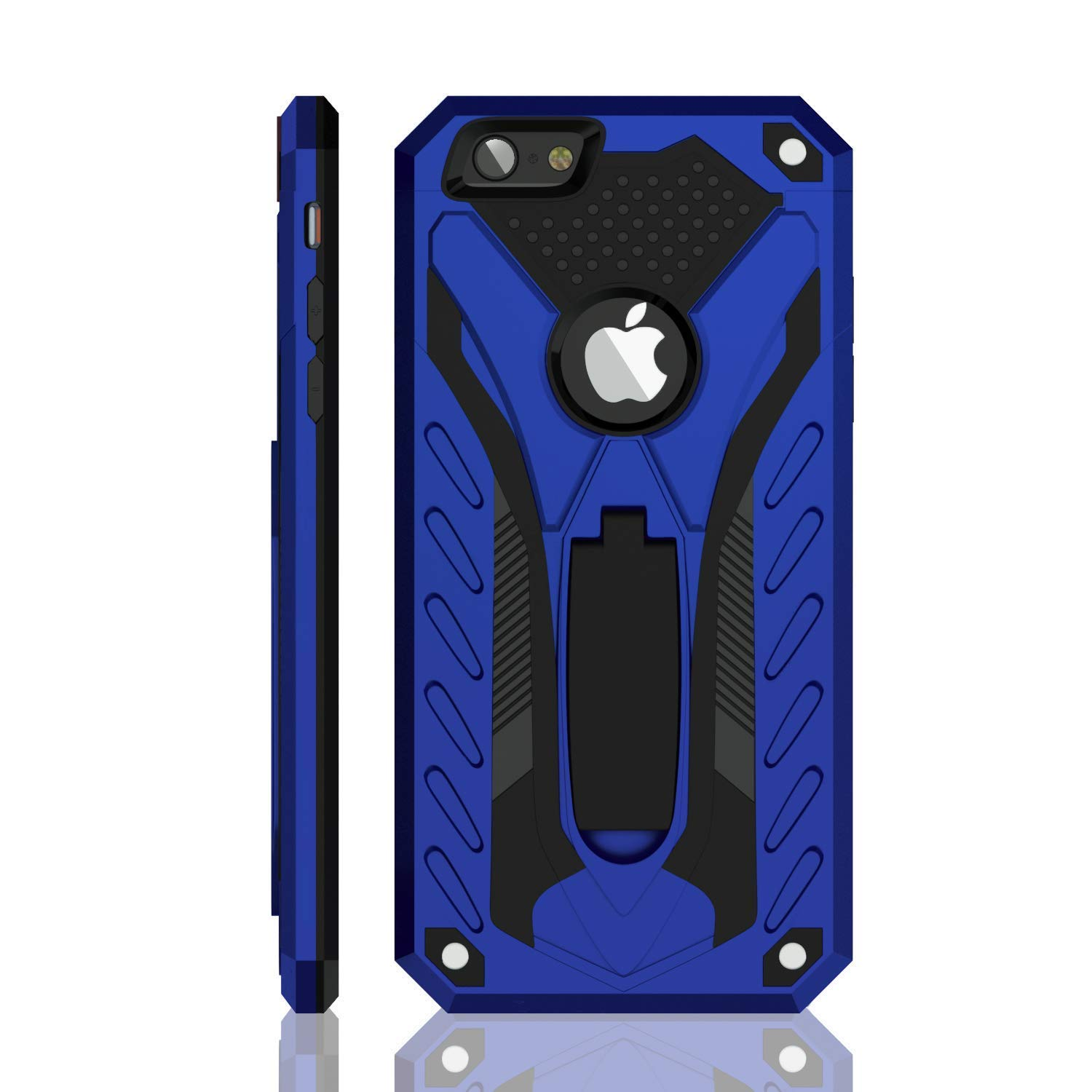 iPhone 6 Plus Case | iPhone 6S Plus Case | Military Grade | 12ft. Drop Tested Protective Case | Kickstand | Compatible with Apple iPhone 6 Plus/iPhone 6S Plus - Blue