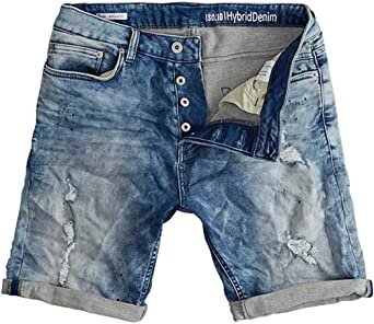 Shorts SOLID Lt. Street Denim S Azul