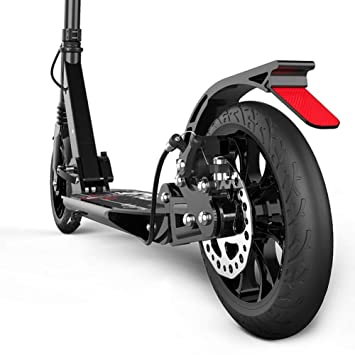 Amazon.com: Scooter Kick Black Adult Folding Commuter, Big ...