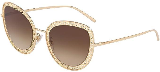 Dolce & Gabbana 0DG2226 Gafas de sol, Gold, 54 para Mujer ...