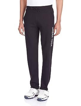 Urban Yoga hombres algodón pijama del negro, hombre, color ...